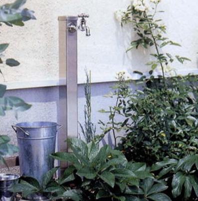 ステンレス水栓柱