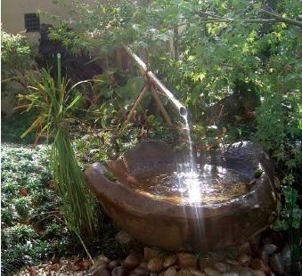 天然石 水鉢
