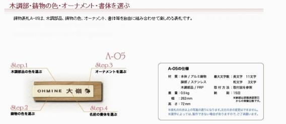 鋳物コレクション A-05 /