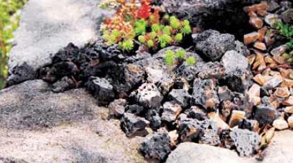 ラヴァストーン  ボルケーノ砕石