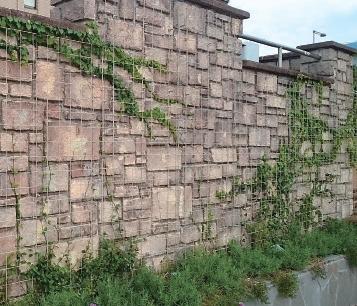 蛇籠 (じゃかご)グリーンパネル
