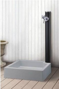 MELS(メルス) 丸型アルミ水栓柱