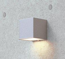 LEDライト ミニキューブ シルバー