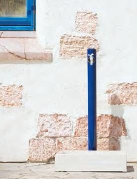 リラガ 丸形アルミ水栓柱