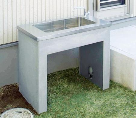 ガーデンシンク 打放しタイプ