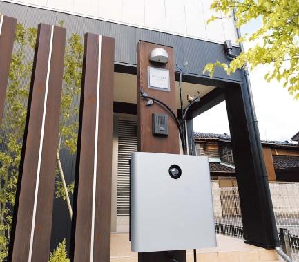 ウェルカムピラー機能門柱4型