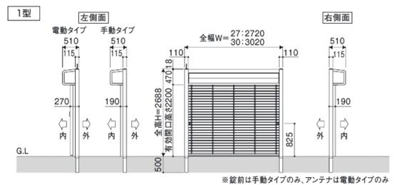 シャッターゲート1型