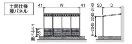 ガーデンテラス スマーレ オープンテラスタイプ(土間仕様・基本)