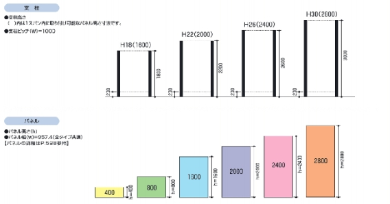 LALAスクリーン 3型(半目隠しタイプ)