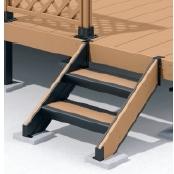 ひとと木2 人工木ステップ