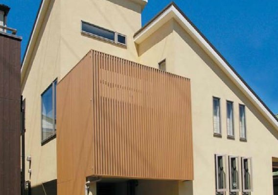 格子ユニット 合成木材タイプ