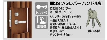 アレグリアTL袖門扉5型