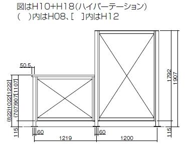 ハイパーフェンスA8型