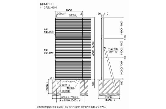 防音フェンス TNF1型