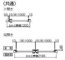 大型門扉 TAM 3型 / / /