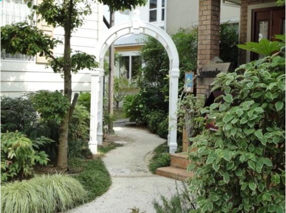 ガーデン アーチ ARBOR(アーバー) 樹脂製