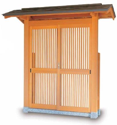 数奇屋門 4型
