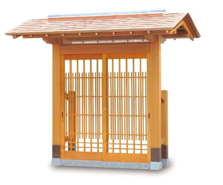 数奇屋門 1型