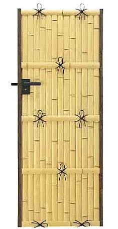 ユニバンブー扉