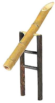 竹製ししおどし
