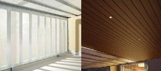 サイドパネル(オプション)/天井材+照明