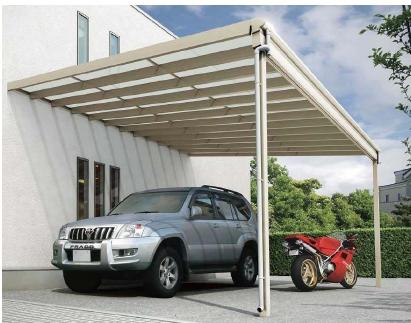テラス屋根 ヴェクター 柱標準タイプ
