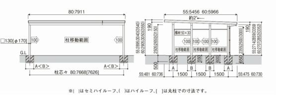 ジーポートneo 基本セット/3台用/Aタイプ / / /