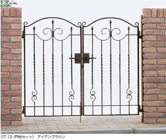 トラディシオン門扉1型 両開き