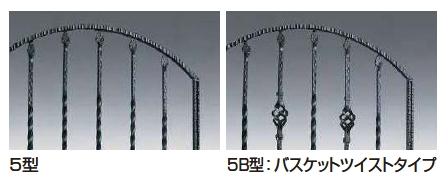 トラディシオン門扉5B型 折戸