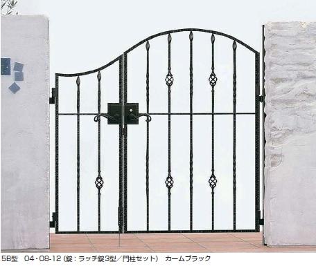 トラディシオン門扉5B型 親子開き