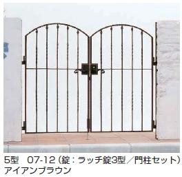 トラディシオン門扉5型 両開き