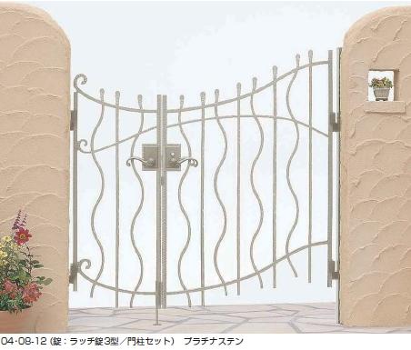 トラディシオン門扉8型 親子開き