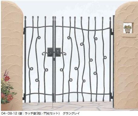 トラディシオン門扉9型 親子開き