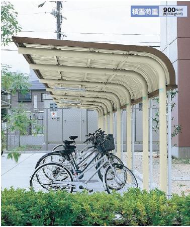 ヨド自転車置場 YOCFタイプ